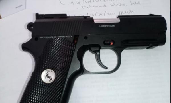 Pencuri Uang Rp30 Juta di Padang Pariaman Ditangkap, Polisi Sita Pistol
