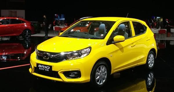Ditopang Brio, Honda Catatkan Penjualan 692 Unit di IIMS Hybrid 2021