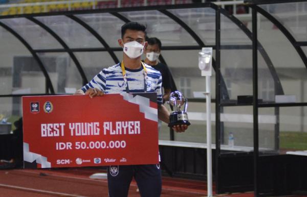 Pratama Arhan Raih Gelar Pemain Muda Terbaik Piala Menpora 2021