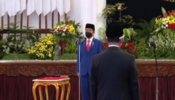 Jokowi Lantik Bahlil Jadi Menteri Investasi, Nadiem Mendikbud Ristek