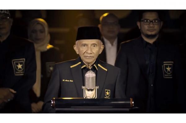 Siap Lawan Kezaliman, Amien Rais Deklarasikan Partai Ummat