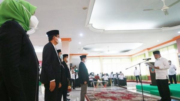 Jusuf Kalla Lantik Pengurus DMI Gorontalo, Nelson Pomalingo: Masjid Raya Segera Berdiri