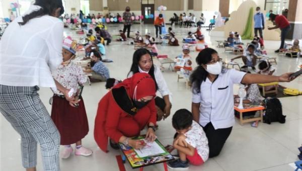Rayakan Ulang Tahun, Istri Gubernur Maluku Gelar Lomba Menggambar dan Mewarnai Anak