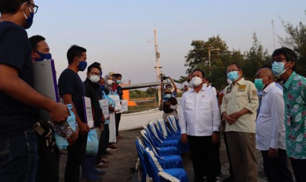 Dukung Pembangunan Sektor Perikanan, Menteri KKP Janjikan Keruk Alur Pelabuhan