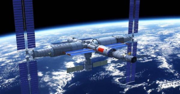Modul Pertama Stasiun Luar Angkasa China Memasuki Orbit Bumi