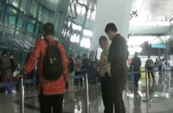 Video Ombudsman Pantau Pengetatan Penumpang di Bandara Soetta