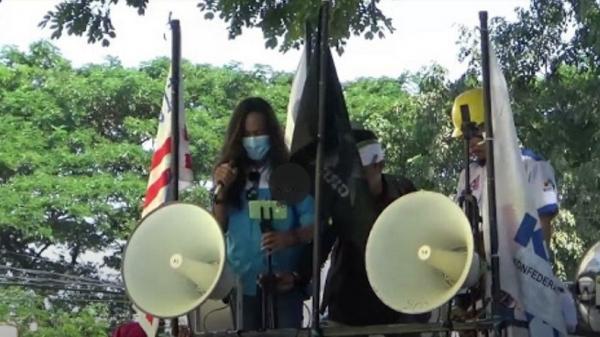 May Day, Ratusan Buruh di Makassar Gelar Aksi Turun ke Jalan