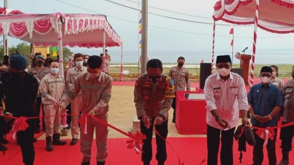 Kapolda Malut Resmikan Mako Brimob Batalyon C Pelopor di Halteng