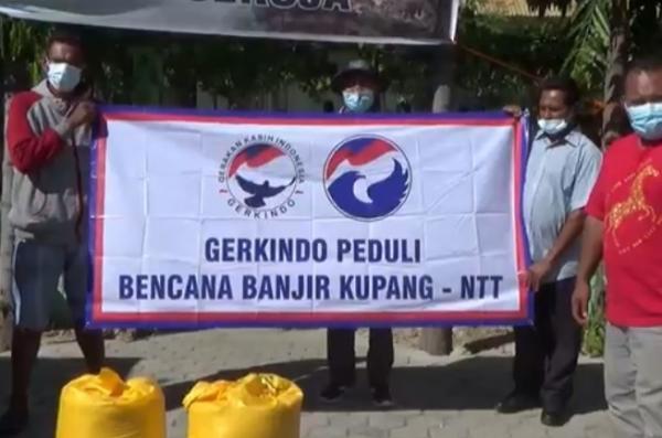 Warga Korban Badai Seroja Senang Dapat Bantuan 1 Ton Beras dari Gerkindo