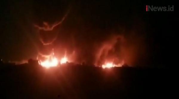 Video Belasan Kapal Tanker Terbakar di Afghanistan, 7 Orang Tewas