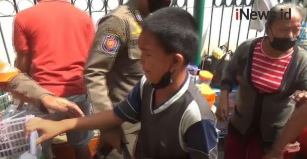 Video Bocah PKL Histeris, Pedagang Tanah Abang Panik saat Dirazia