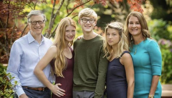 Bercerai, Ini Potret 3 Anak Bill Gates dan Melinda