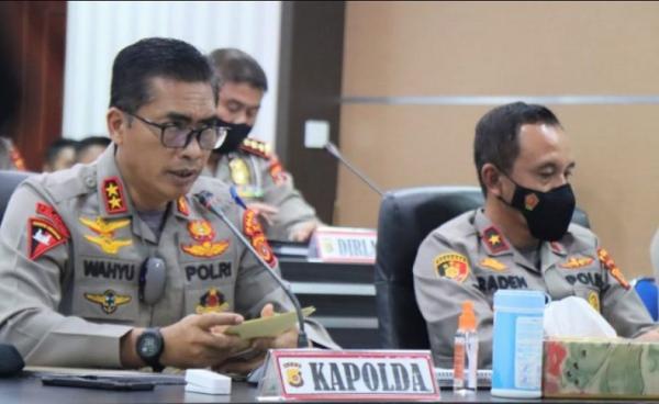 Amankan Idul Fitri, Kapolda Aceh Buka Pelatihan Praoperasi Ketupat Seulawah 2021