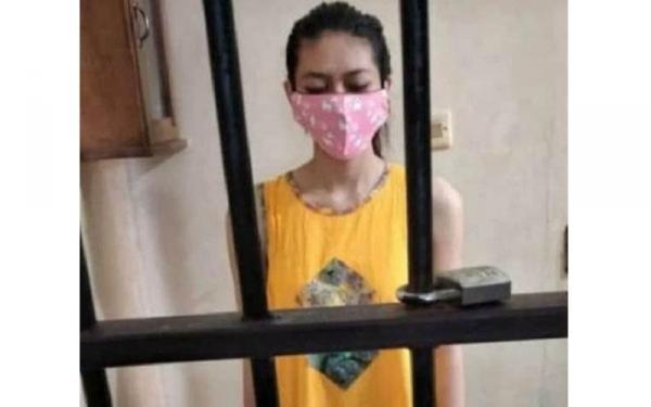 Kasus Sate Beracun, Tersangka NA Kenakan Daster Kuning di Dalam Sel Tahanan Viral
