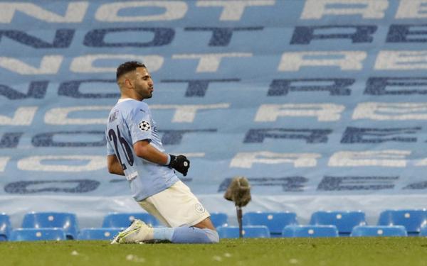 Bawa Manchester City Singkirkan PSG, Riyad Mahrez: Alhamdulillah Final!