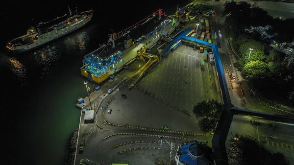 Suasana Pelabuhan Merak Lengang, Sepi Tidak Ada Pemudik