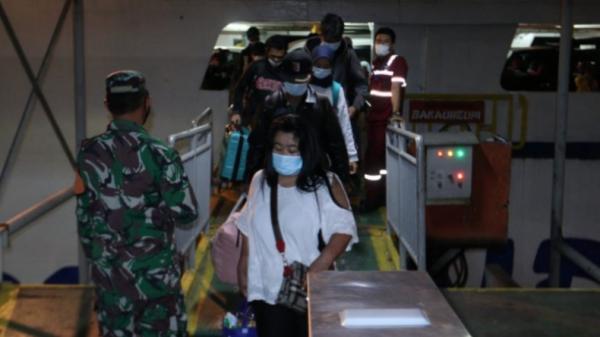 PPKM Darurat, Pemprov Lampung Lakukan Penyekatan di Pelabuhan Bakauheni
