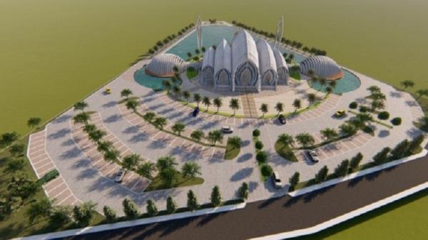 Keren Pisan, Desain Masjid Akbar Seribu Bulan Banyumas Karya Ridwan Kamil