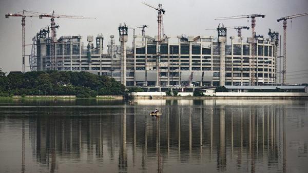 Melihat Progres Pembangunan Jakarta International Stadium Mencapai 55 Persen
