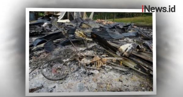 Video Rumah yang Dibakar KKB di Kampung Kimak Ternyata Pusat Belajar Masyarakat