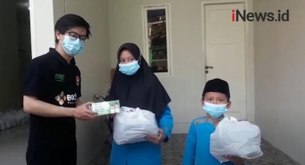 Video DPP Baja Perindo Bagikan Santunan kepada Rumah Yatim Sunter Muara