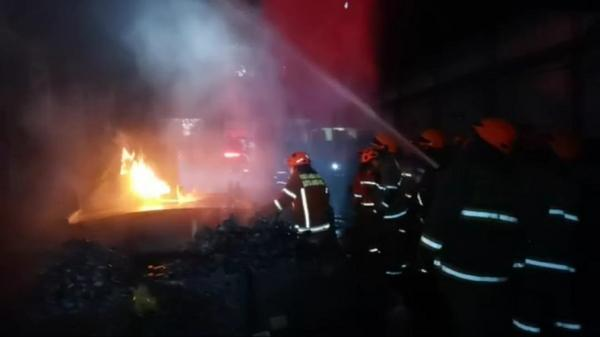 Ini Kronologi Kebakaran di PT Pindad Bandung