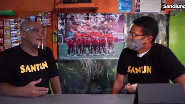 Curhat Sapri ke Sandiaga Uno, Pernah Banting Tulang Jadi Kuli Bangunan hingga Office Boy