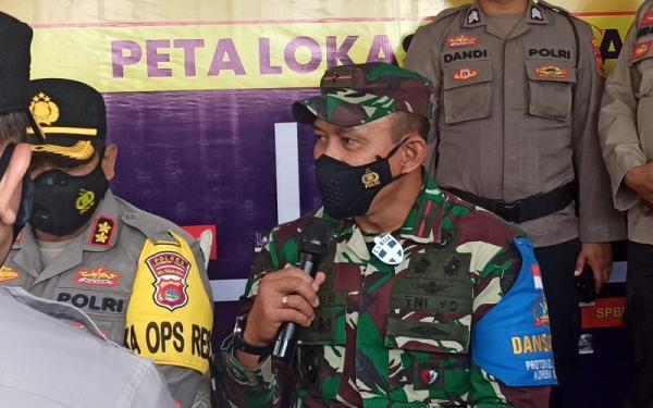 Pantau Pos Pengamanan Mudik di Lotim, Danrem 162 Wira Bhakti: Jangan Sampai Jebol