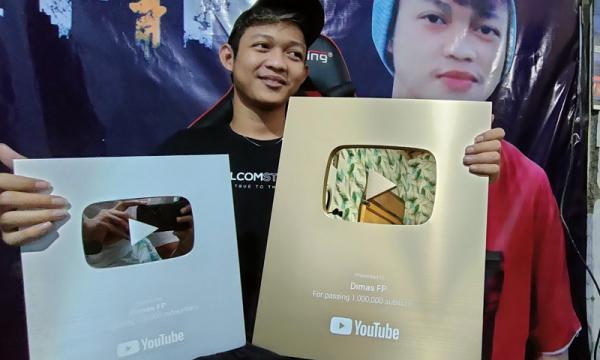 Cerita Dimas FP, YouTuber asal Rembang yang Sukses Raih 1,2 Juta Subscriber