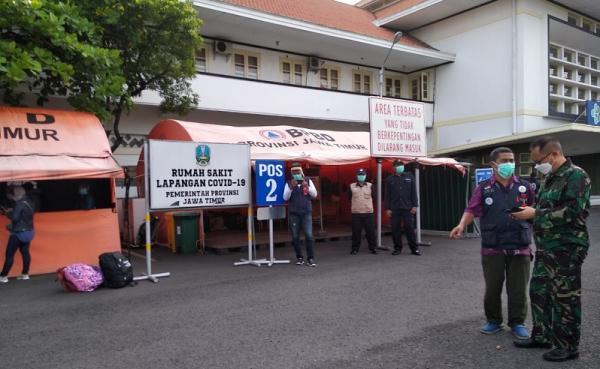 Jelang Lebaran, 7.002 Pasien Covid-19 di RS Lapangan Jatim Sembuh