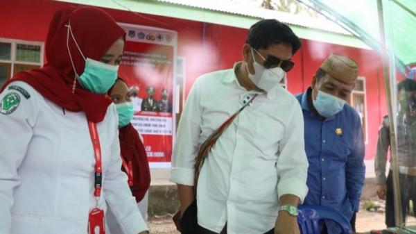 Cek Pos Perbatasan Gorontalo-Sulut, Bupati Bone Bolango Puji Warga Bolsel yang Tak Mudik