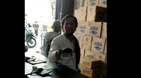 Pemilik Toko di Ciputat Resah, Preman Berkeliaran Minta Jatah THR