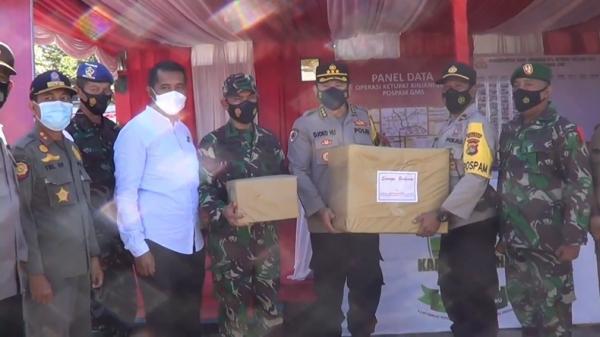 Irwasda Polda NTB Sidak Pos Pengamanan Hari Raya Idul Fitri