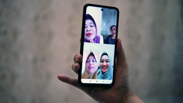 Mudik Dilarang, Silaturahmi bersama Keluarga Digelar Secara Virtual
