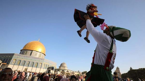 Rakyat Palestina Sukacita Rayakan Idul Fitri di Tengah Gempuran Israel