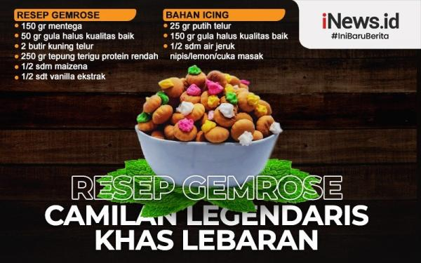 Infografis Biskuit Legendaris Lebaran Gem Rose