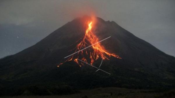 Gunung Merapi Muntahkan Lava Pijar 3 Kali hingga Sejauh 1,4 Kilometer