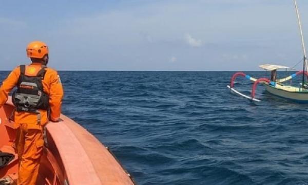 Basarnas Bali Cari Nelayan Hilang di Perairan Nusa Dua, Jukung Ditemukan