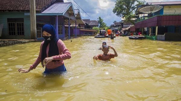 Korban Banjir di Tanah Bumbu Akan Direlokasi
