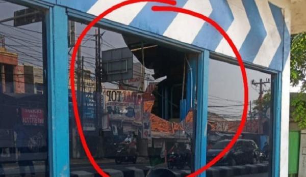 Pos Polantas Kranji Bekasi Diserang Orang Tak Dikenal, Polisi Cek CCTV