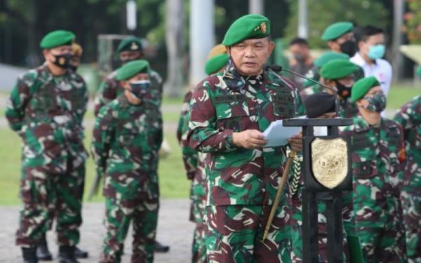 Jadikan Prajurit Kostrad Petarung, Jenderal Ini Sebut Lebih Baik Mandi Darah dalam Latihan