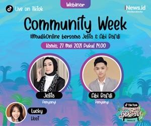 Saksikan Community Week iNews.id x TikTok Indonesia #MudikOnline Bersama Jelita dan Abi Rafdi