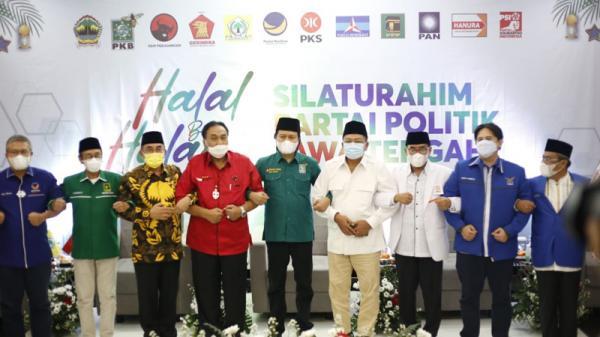 Ketua Parpol di Jateng Berkumpul, Sepakat Dampingi Wong Cilik Hadapi Pandemi Covid-19