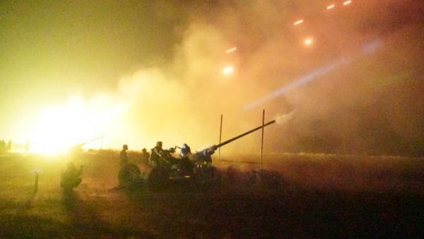 Serbu Musuh, 425 Prajurit Arhanud Tembakkan Rudal dan Meriam di Lumajang