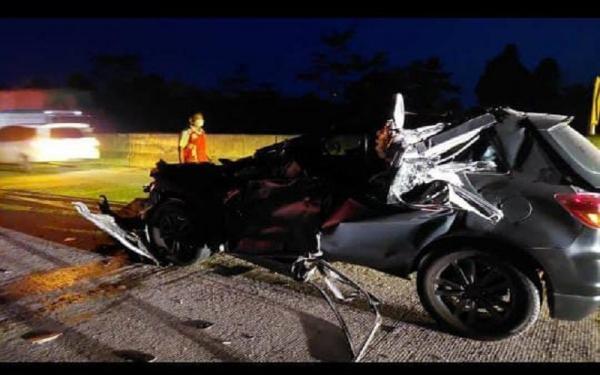 Kecelakaan di Tol Trans Sumatera, Wakapolres Lampung Utara Dilarikan ke Rumah Sakit