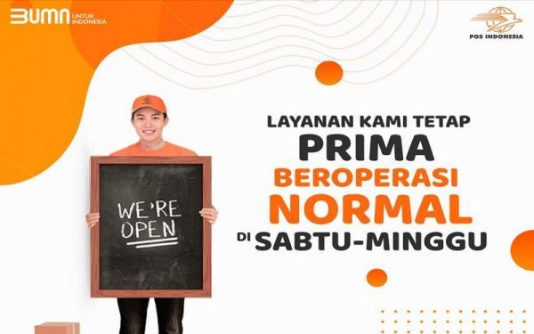 Pos Indonesia Buka Layanan Kurir dan Logistik Sabtu-Minggu