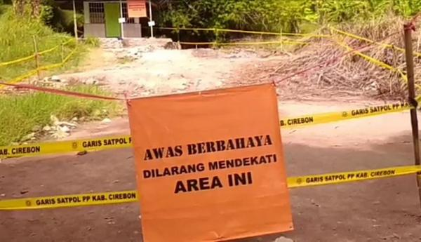 Terdeteksi Gas Beracun, Tanda Bahaya Dipasang di Sekitar Semburan Lumpur Cipanas