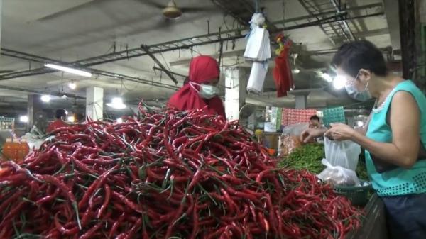 Dampak Cuaca Buruk, Harga Cabai Merah dan Rawit di Medan Turun