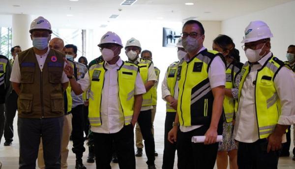 Moeldoko Pastikan Kawal Penyelesaian Bandara Internasional Lombok