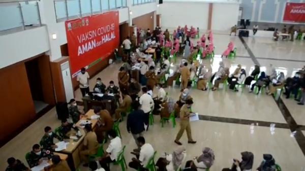 Satgas Covid 19 Aceh Gelar Vaksinasi Massal Selama 10 Hari Bagian 1